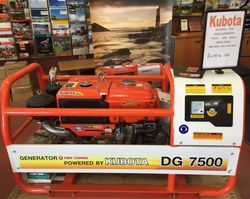 Generator Kubota 7500