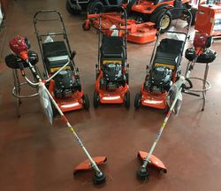 Kubota Garden Care Equipment